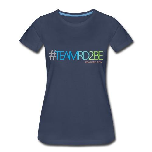 team rd2be transparent 2 png - Women's Premium T-Shirt