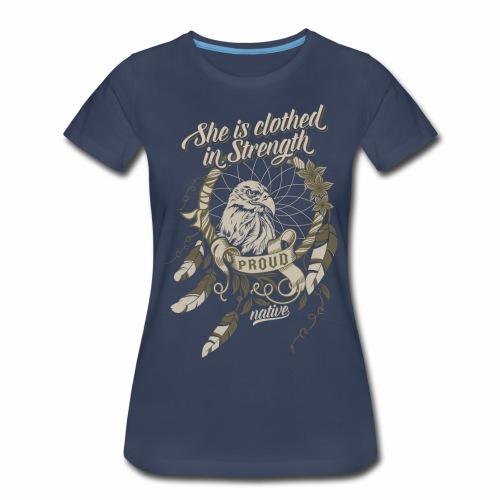 Proud Native American - Women's Premium T-Shirt