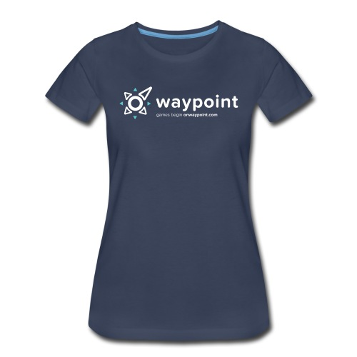 Waypoint Logo (Light Version) - Women's Premium T-Shirt