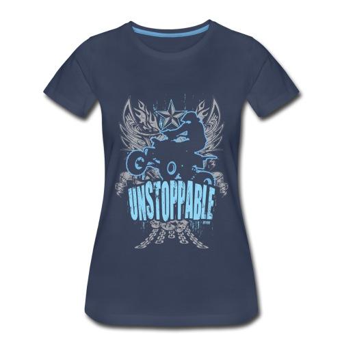 ATV Quad Unstoppable - Women's Premium T-Shirt