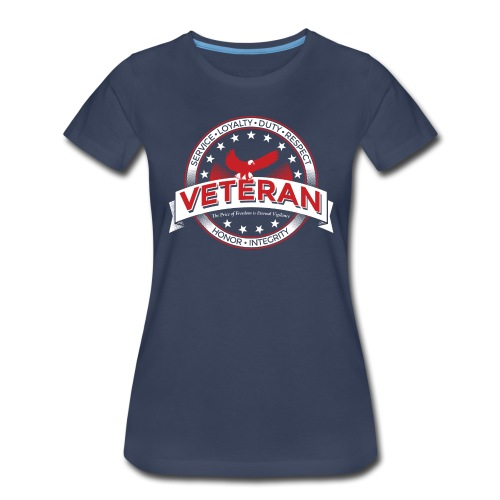 Veteran Soldier Military - Women's Premium T-Shirt