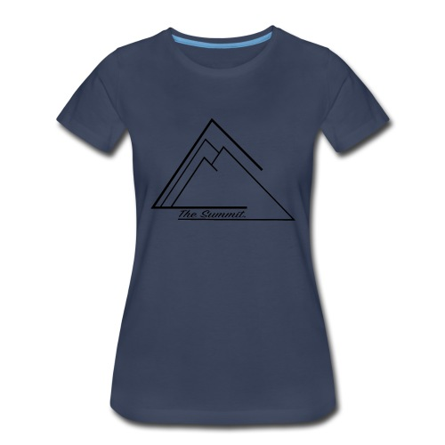 The Summit Phone case - Women's Premium T-Shirt