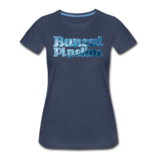 Banzai Pipeline - Ultimate Surfing Waves - Women's Premium T-Shirt