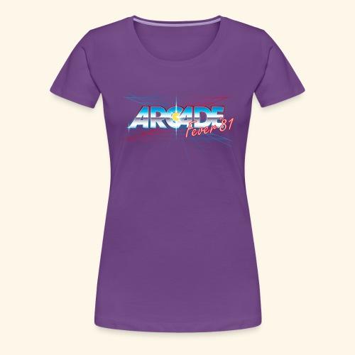 arcade fever 81 motiv2 - Women's Premium T-Shirt