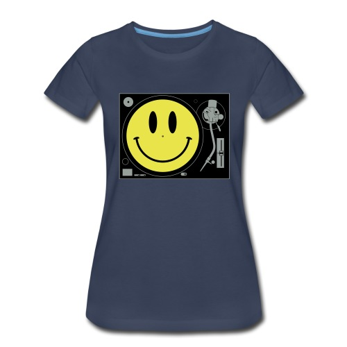 Smiley Turntable - Women's Premium T-Shirt