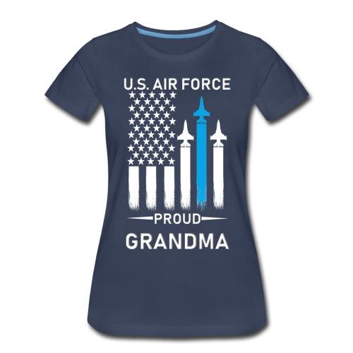 Proud Air Force Grandma - Women's Premium T-Shirt