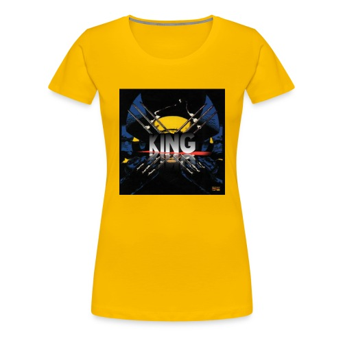ones wolverine was a king!! - Women's Premium T-Shirt