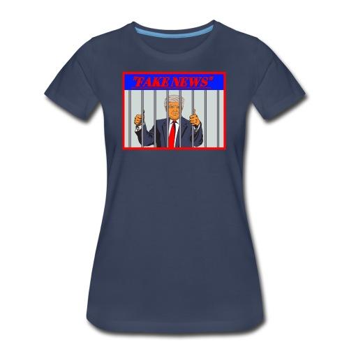 Fake News by Donald Trump - Women's Premium T-Shirt