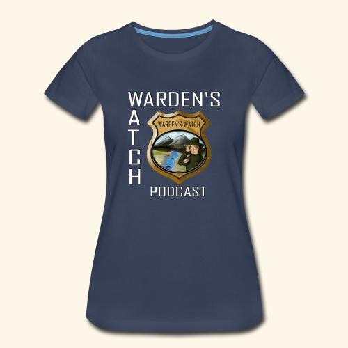 warden s watch front3 - Women's Premium T-Shirt