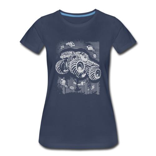 Monster Big Foot Grunge Baby & Toddler Shirts - Women's Premium T-Shirt