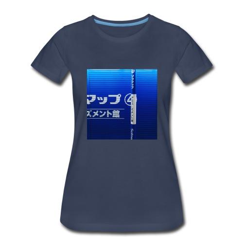 Blue Wave - Women's Premium T-Shirt