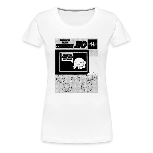BRIGHTER SIGHT NEWS NETWORK - Women's Premium T-Shirt