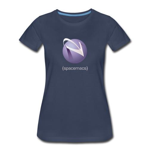 color with light text png - Women's Premium T-Shirt