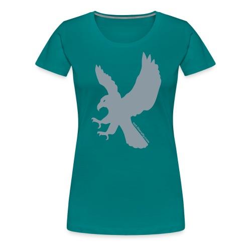 Not Literally Ravenclaw Logo Large - Women's Premium T-Shirt