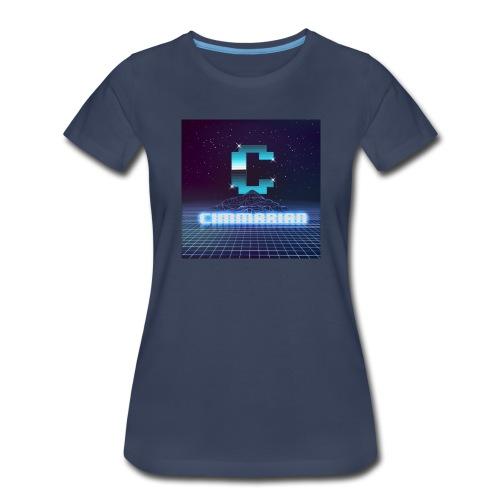 The killer 80s logo - Women's Premium T-Shirt