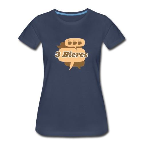Blanc - Women's Premium T-Shirt