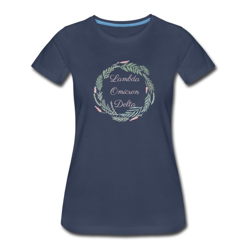 LOD Flower Wreath 1 - Women's Premium T-Shirt