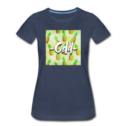 Odd Pineapple - Women's Premium T-Shirt