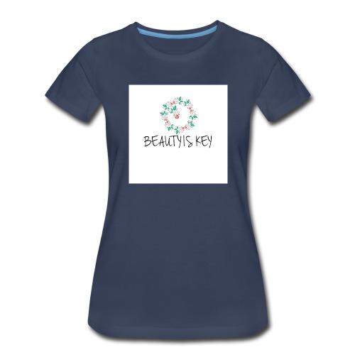 Beauty is Key - Women's Premium T-Shirt