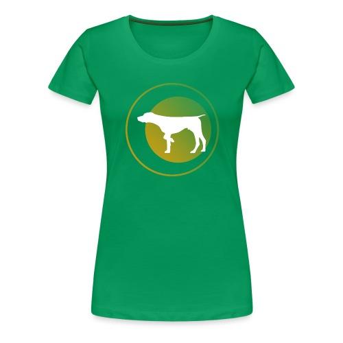 German Shorthaired Pointer - Women's Premium T-Shirt