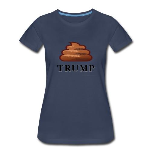 Trump (shit) - Women's Premium T-Shirt