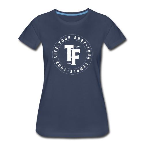 TF 2018 Logo - Circular - Women's Premium T-Shirt