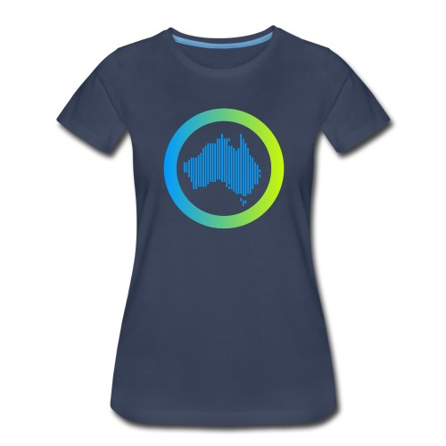 Gradient Symbol Only - Women's Premium T-Shirt