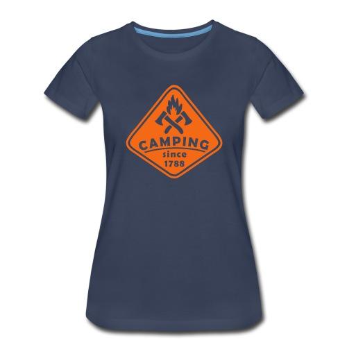 Campfire - Women's Premium T-Shirt