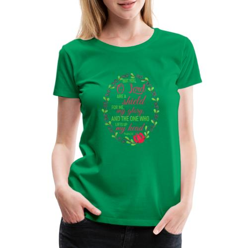 Psalm 3:3 - Women's Premium T-Shirt