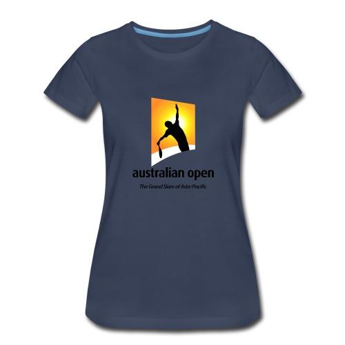 AUSTRALIA OPEN LOGO 2 - Women's Premium T-Shirt