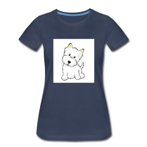 cute pup - Women's Premium T-Shirt