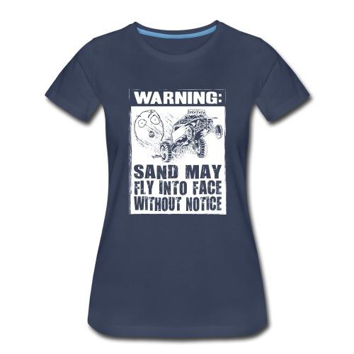 Dune Buggy Sand Warning - Women's Premium T-Shirt