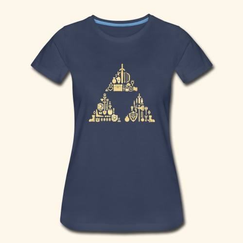 Zelda Triforce - Women's Premium T-Shirt