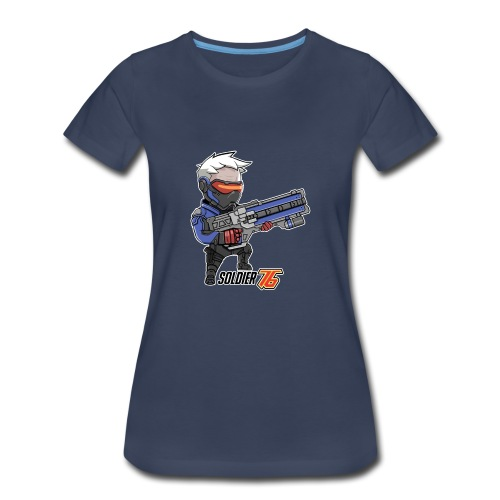 Soldier 76 - Women's Premium T-Shirt