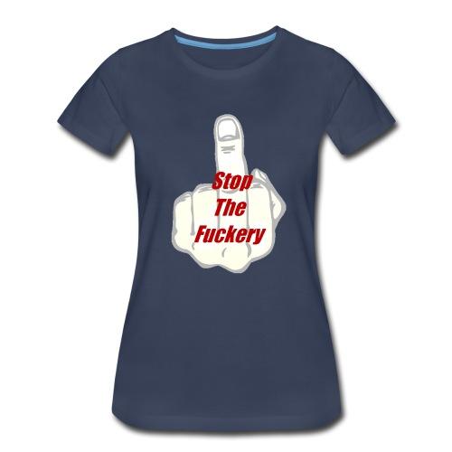 Men's V-Neck T-Shirt by Canvas - Women's Premium T-Shirt