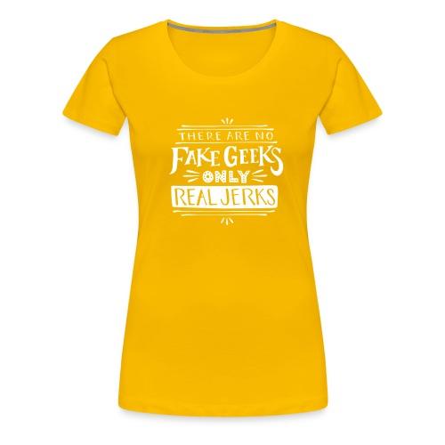 real jerks doodads copy copy white png - Women's Premium T-Shirt