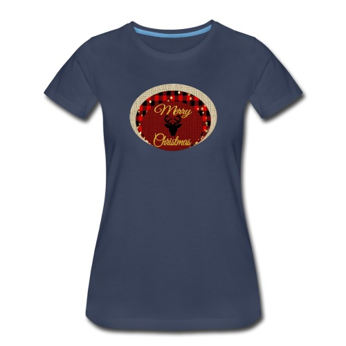 merry christmas - Women's Premium T-Shirt