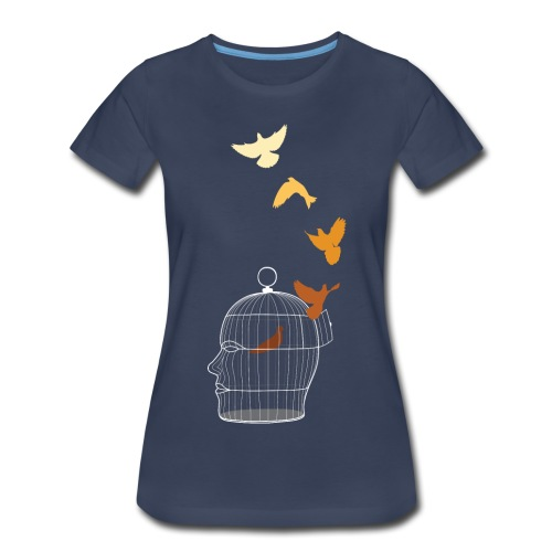 Free Thought - Women's Premium T-Shirt