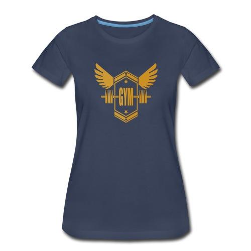 Logo GYM - Women's Premium T-Shirt