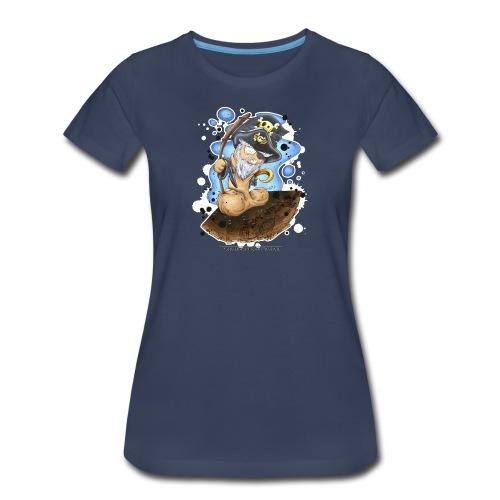 captain cock - Women's Premium T-Shirt