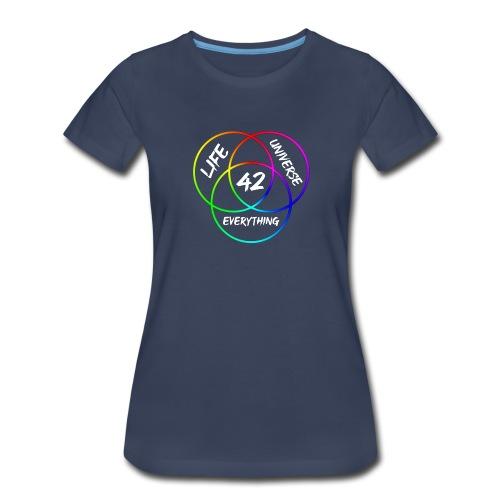 42 The Answer to Life merch - Women's Premium T-Shirt
