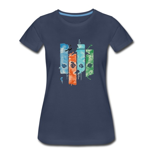 Elements of Life - Women's Premium T-Shirt