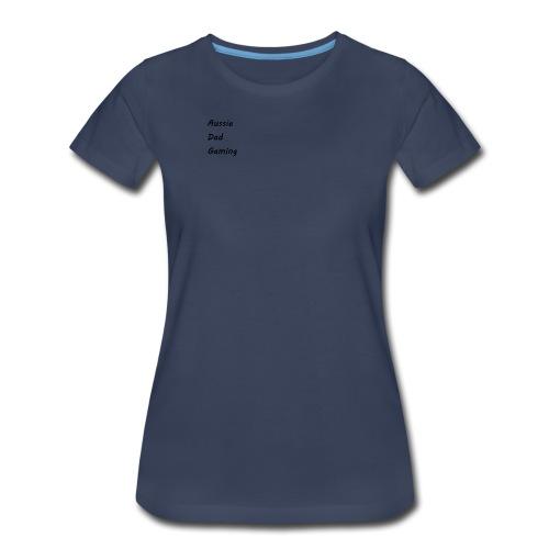 Basic AussieDadGaming - Women's Premium T-Shirt