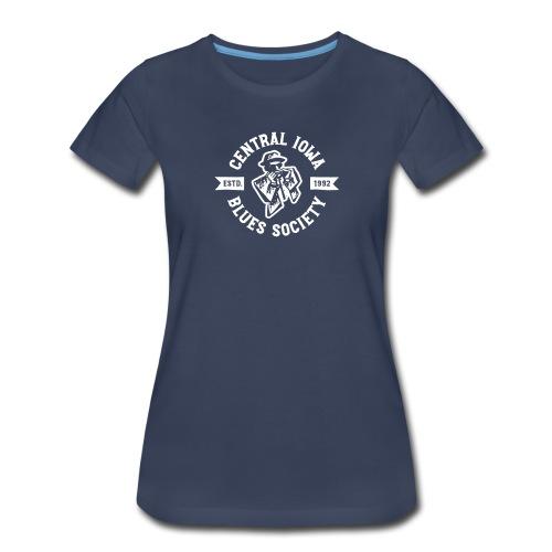 CIBS Logo - WHITE - Women's Premium T-Shirt