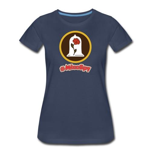 Red Rose Explorer Badge - Women's Premium T-Shirt