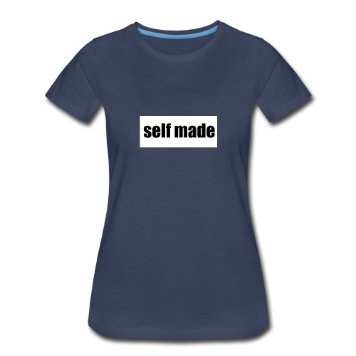 self made tee - Women's Premium T-Shirt