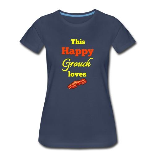 Happy Grouch bacon - Women's Premium T-Shirt