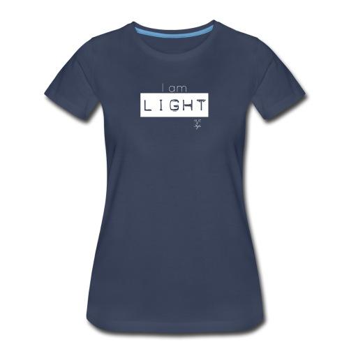 I AM LIGHT - Women's Premium T-Shirt