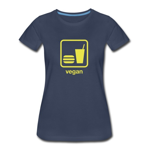 Vegan Food - Women's Premium T-Shirt