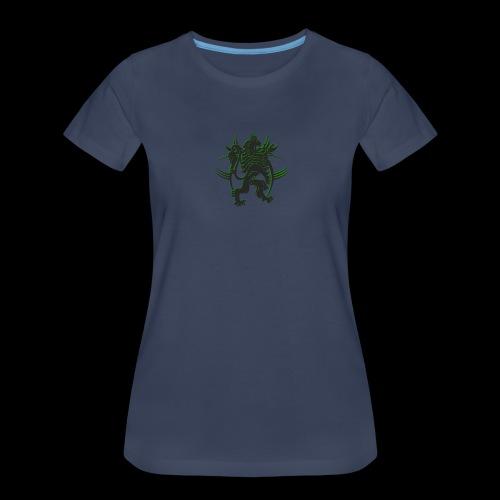 The AfrLoy logo - Women's Premium T-Shirt